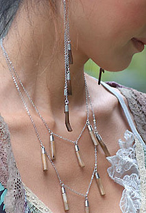 Unique Handmade Jewelry with Real Twigs.
